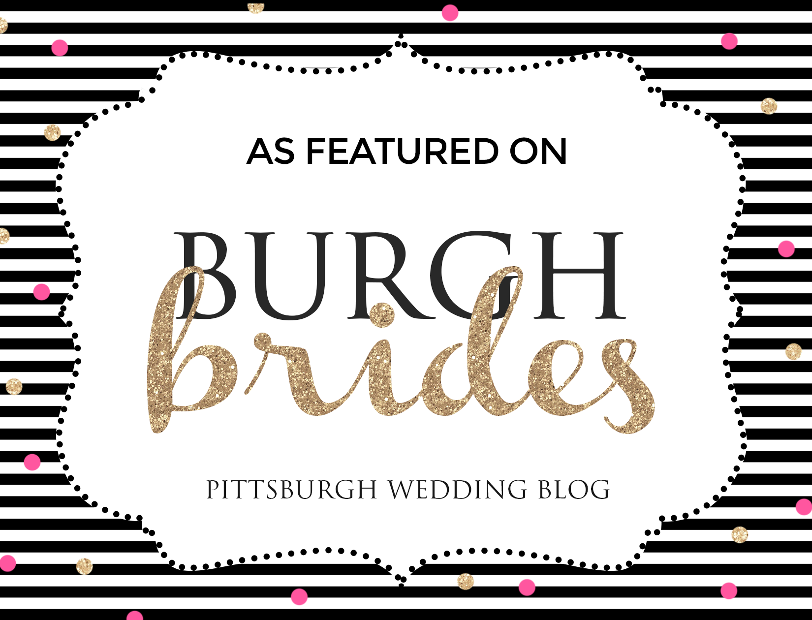 As Featured on Burgh Brides